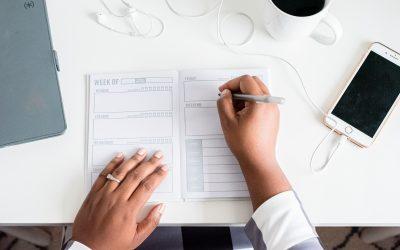 A importancia do planejamento diário  – The importance of daily planning