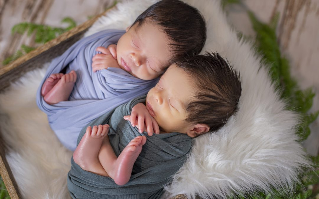 Newborn Photoshoot – Twins